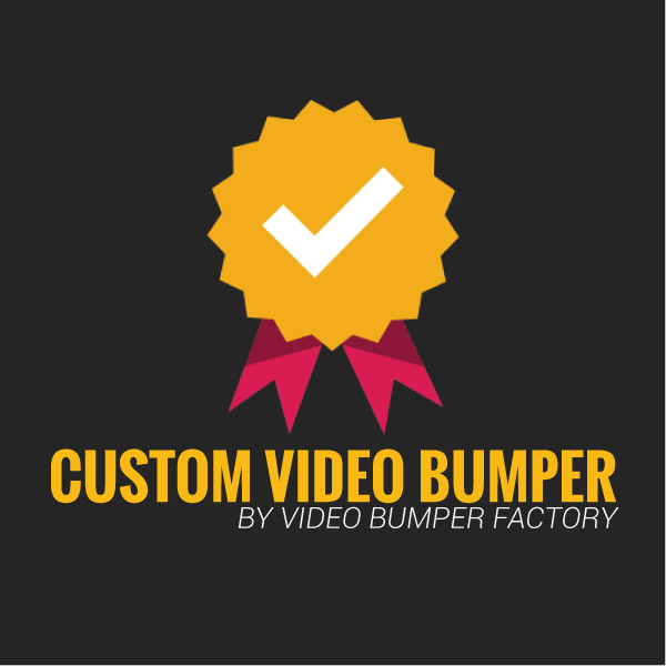 Custom Video Bumper Intro Video Product Image